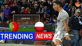Why is Cristiano Ronaldo not playing for Portugal against Poland in Nations League match?