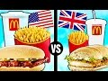 AMERICAN vs. BRITISH McDonald's Food