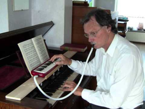 Bach - Three Chorale settings - Gerard van Reenen, harmonium
