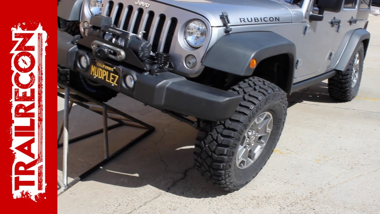 Cooper Discoverer STT Pro Tire Install on a Jeep Wrangler ...