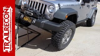 Cooper Discoverer STT Pro Tire Install on a Jeep Wrangler - 315/70R17