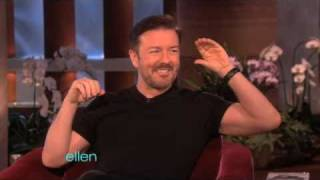 Ricky Gervais Gets the Golden Globes Again!