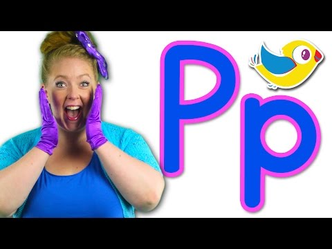 The Letter P Song - Learn the Alphabet