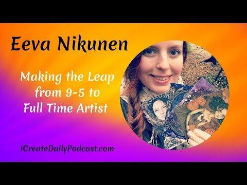 Episode 02:  From 9-5 Job to Professional Artist with Eeva Nikunen