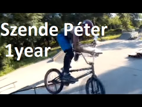 Szende Péter-First Year of BMX Edit