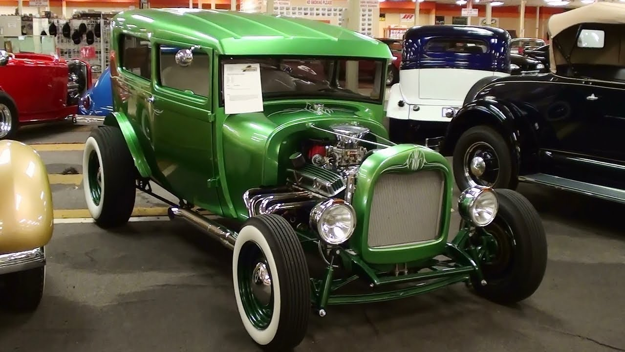 1929 Ford Model A Hot Rod Chopped And Channeled Youtube