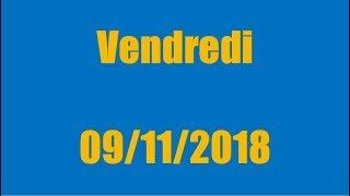 TIRAGE EURO MILLIONS DU VENDREDI 9 NOVEMBRE 2018 !