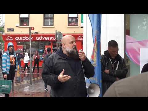 Fr. Isaac Mary Relyea - First Saturday Rosary Rally (Daunt Square - Cork, Ireland)
