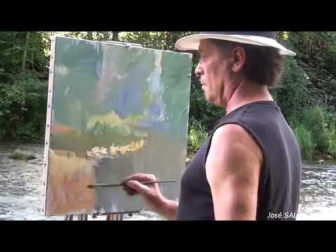 José SALVAGGIO plein air painting 21 Summer holidays