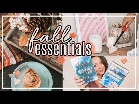 FALL INSPIRATION 2018! | FAVORITE FALL MUST HAVE ITEMS! #FallFridaysWithPage | Page Danielle