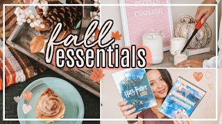 FALL INSPIRATION 2018!   FAVORITE FALL MUST HAVE ITEMS! #FallFridaysWithPage   Page Danielle