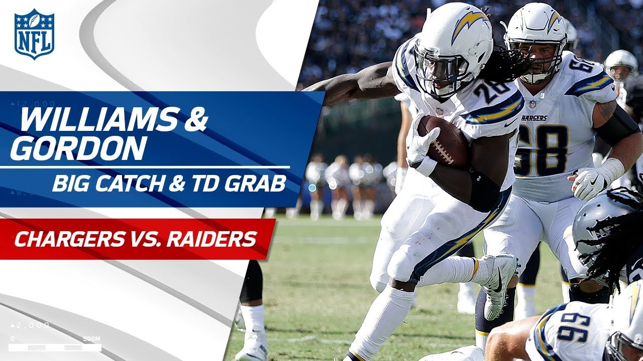 Rookie Mike Williams  Huge Grab   Melvin Gordon s Quick TD Catch ... 7576e485b