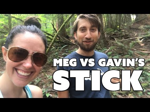Meg vs Gavin's Stick - Meg Turney