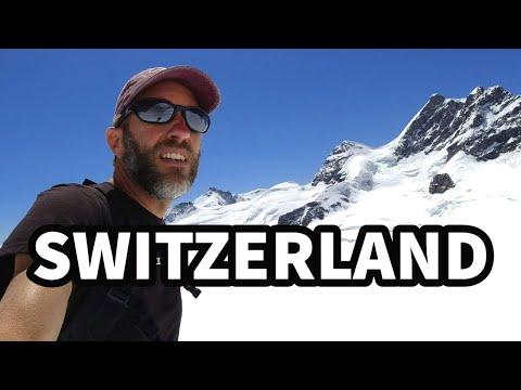 Exploring the Alps of Europe | 3 Days in SWITZERLAND