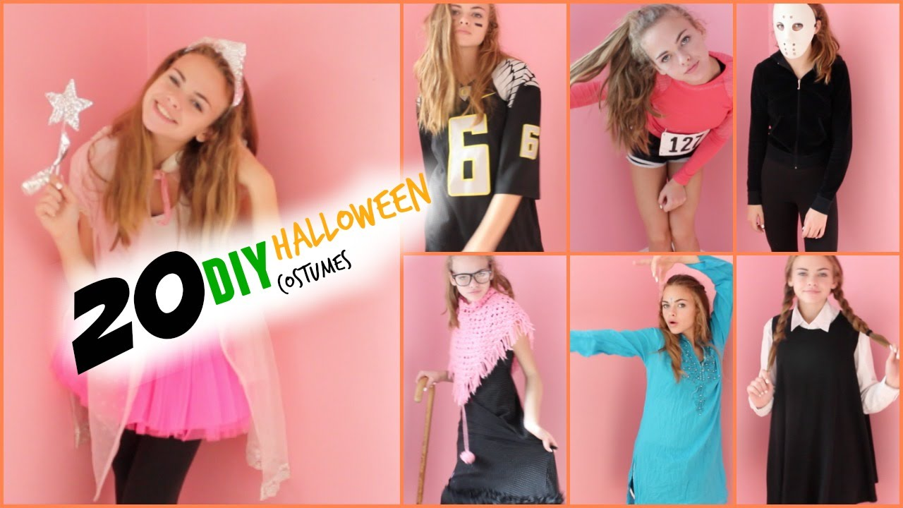 EXTREMELY) LAST MINUTE DIY HALLOWEEN COSTUME IDEAS - YouTube