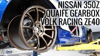 Nissan 350Z With Quaife Sequential Gearbox & Volk ZE40's!