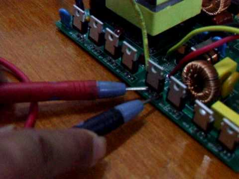 Power Jack 300w grid tie inverter-repair-3
