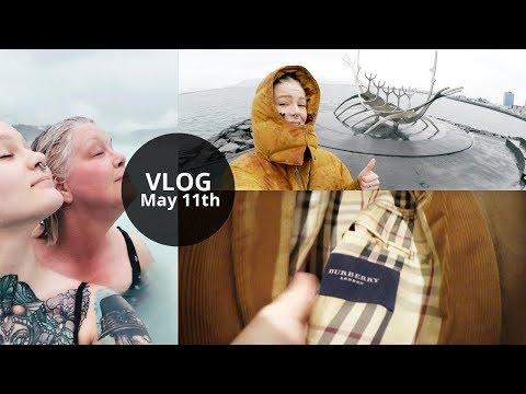 Vlog: Reykjavík, Blue Lagoon & Crazy Thrift Find! 😱