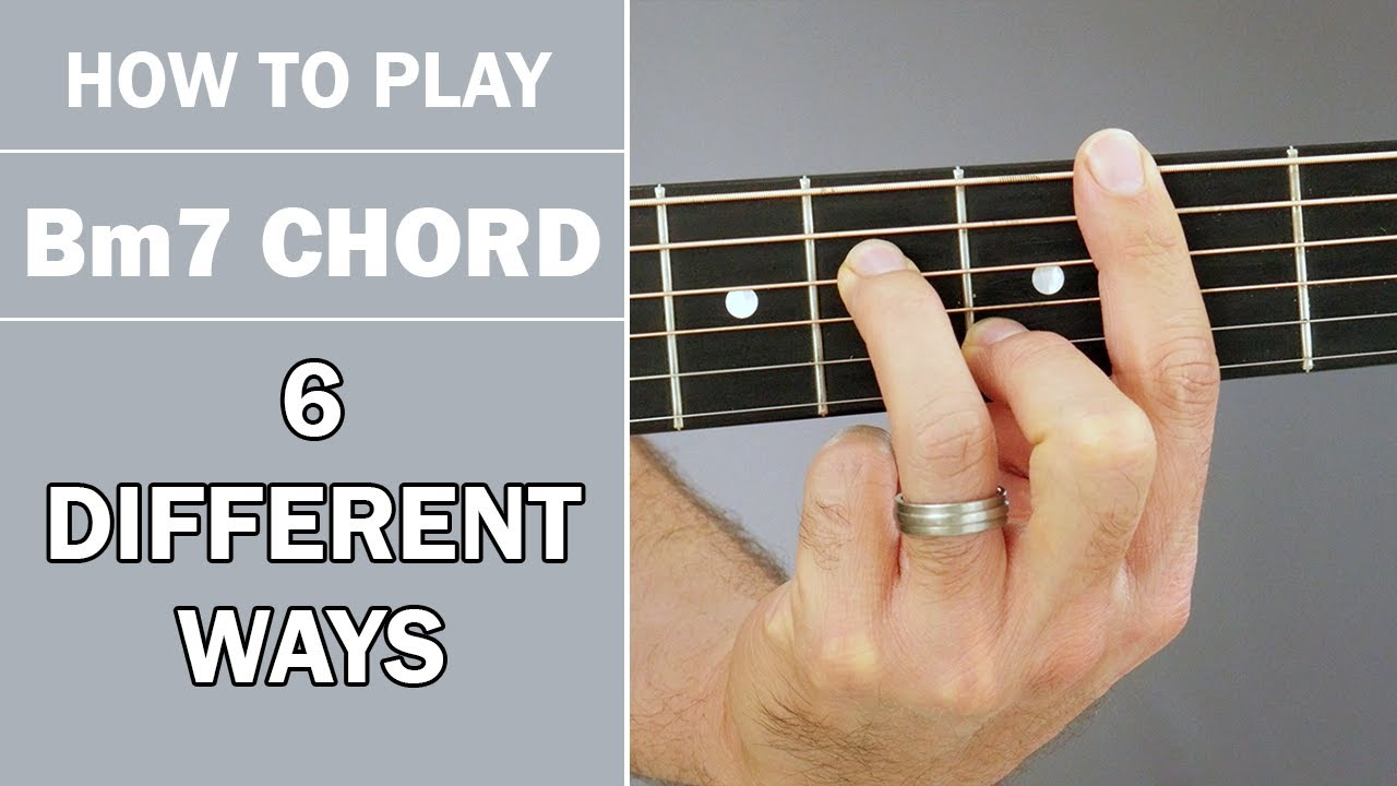 How To Play Bm15 Chord on Acoustic Guitar   15 Variations