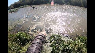 Осенняя рыбалка кастинговой сетью 6м с НЕОЖИДАННЫМ ФИНАЛОМ