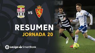 Resumen de FC Cartagena vs Real Zaragoza (1-1)