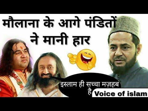 मौलाना ने हरा दिया पंडितो को देखे कैसे | Maulana Jarjis Ansari |