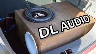 Что ты такое?)) DL Audio Gryphon Pro 12. 67 литров 160 труба.