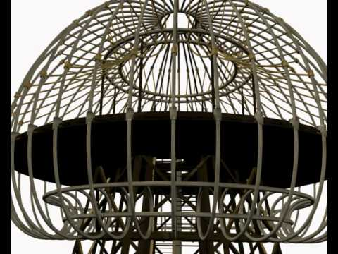 Tesla Wardenclyffe Magnifying Transmitter Tower Walkthrough 3d Animation by Leo Blanchette