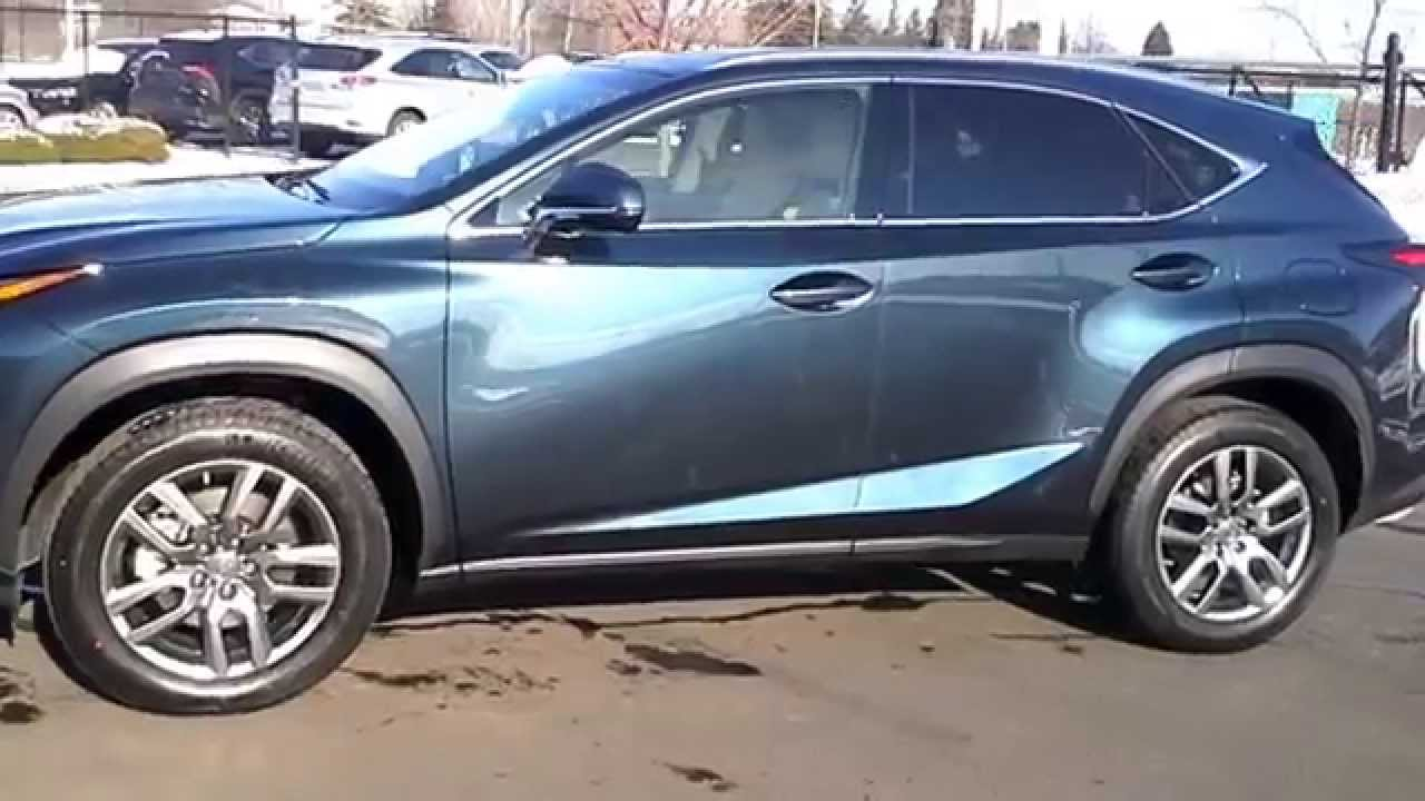 2015 Lexus NX 200t- AWD review! - YouTube