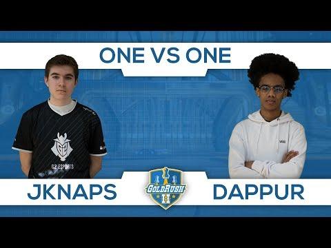 JKnaps versus Dappur  (1v1 Cup Swish Phase) #GoldRush2