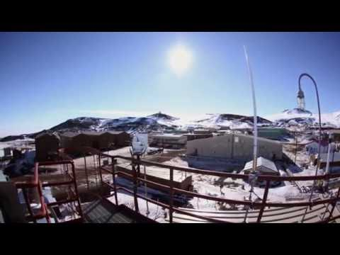 24 hours Sun in McMurdo Antarctica 360 degree time lapse (No Flat Earth)