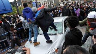 США.Беспорядки в Балтиморе вспыхнули с новой силой.