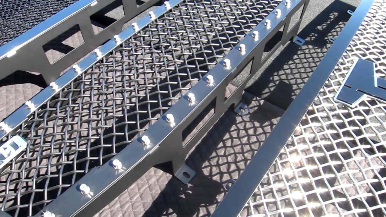 Compare Mesh And Colors For Custom Truck Grilles And