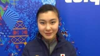 ソチオリンピックのフィギュアスケート女子シングルで12位の村上佳菜子...
