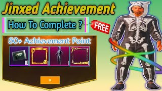 How To Complete JINXED Achievement In PUBG Mobile / FULL INFORMATION IN HINDI WITH THAKUR EMPIRE