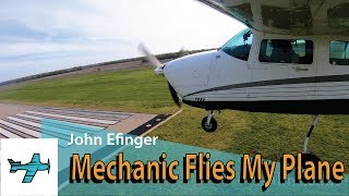 Mechanic Flies My Plane - TakingOff Ep 54