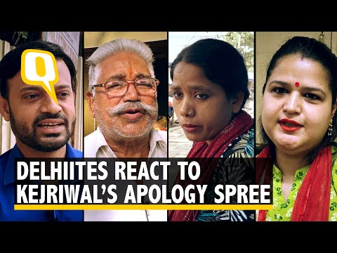 Here's what Delhiites think about Arvind Kejriwal's Apologies