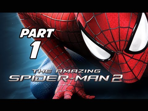 The Amazing Spider-Man 2 Walkthrough Part 1 - On the Trail of a Killer (PS4 1080p Gameplay)