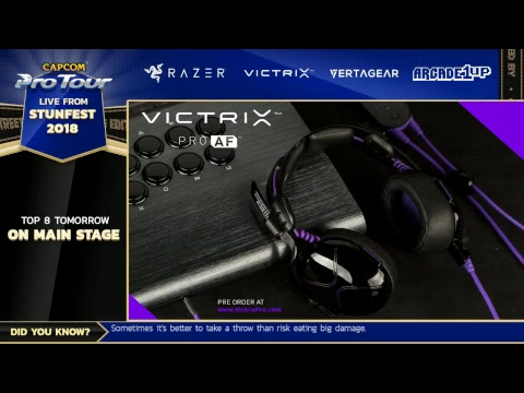 Stunfest 2018 - Day 1 - Capcom Pro Tour 2018