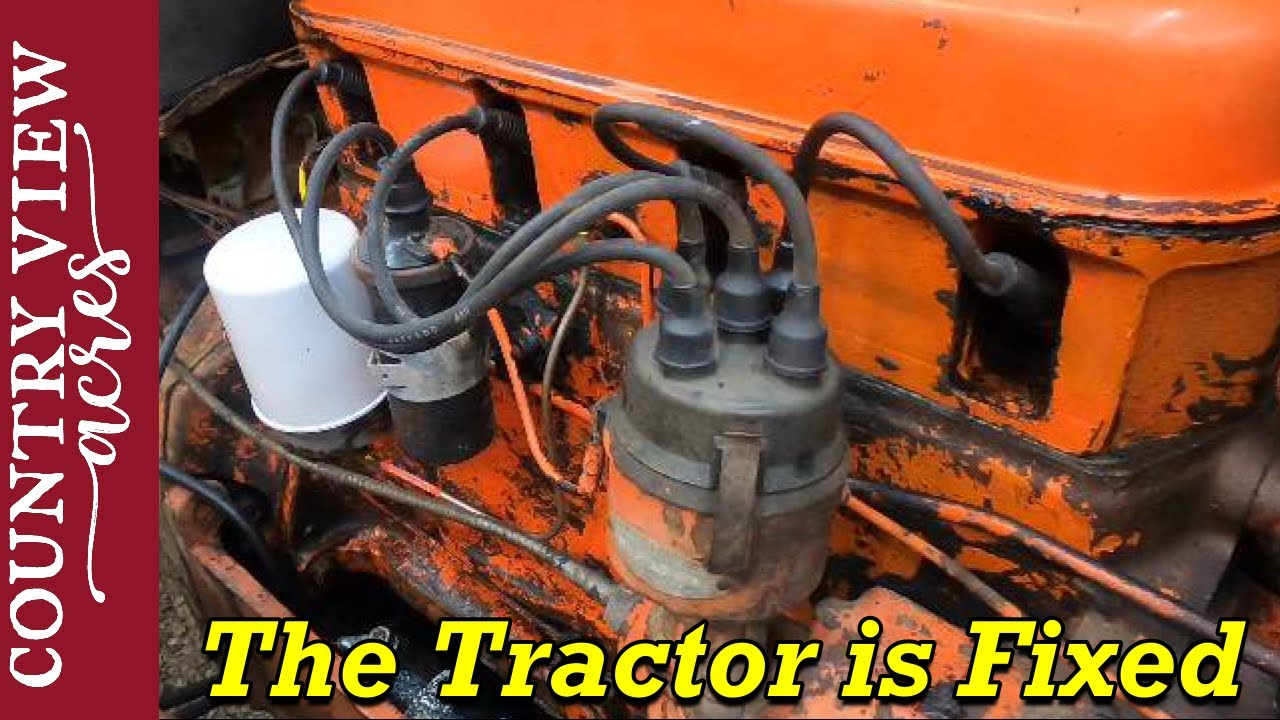 Tractor Tune Up Didn T Go Well Allis Chalmers D17 Youtube