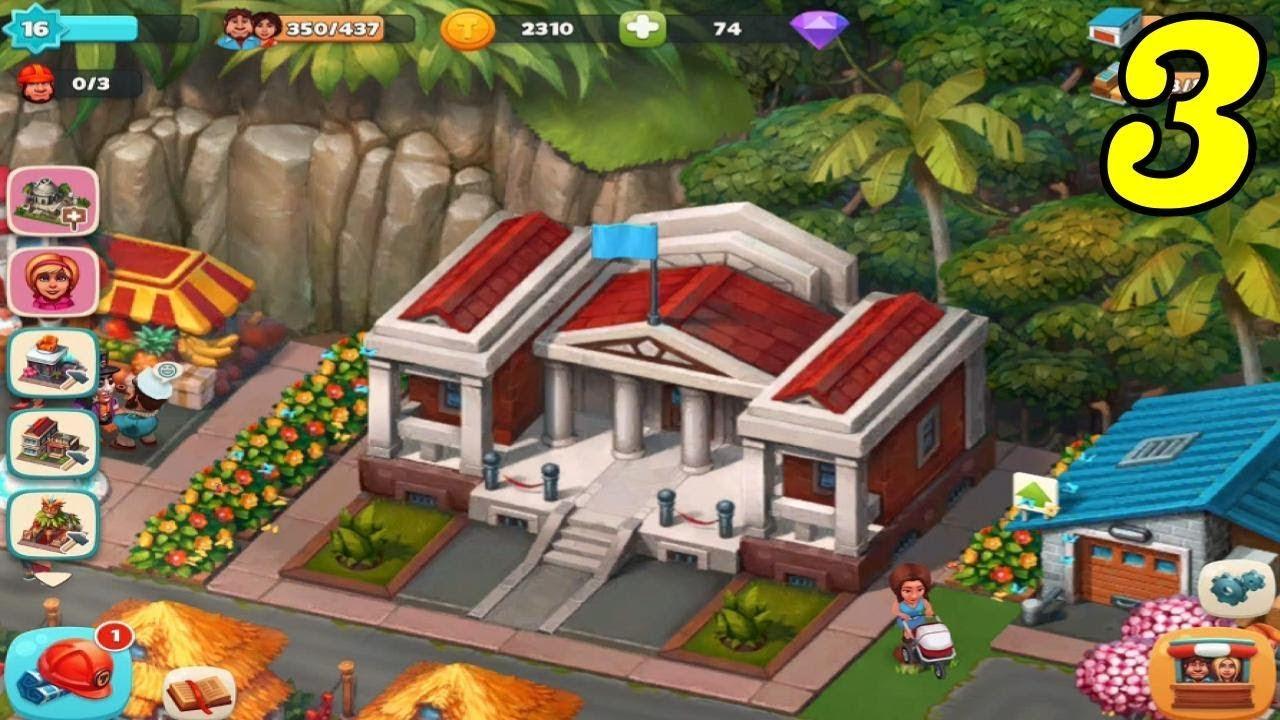 Trade Island - City Hall Level 3 - Gameplay #3 - YouTube