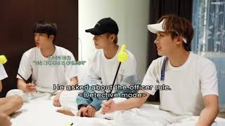 [ENGSUB] BTS PLAYING MAFIA GAME | Season's Greeting 2018