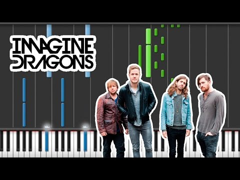 Imagine Dragons - Levitate [piano Cover & Synthesia Tutorial]