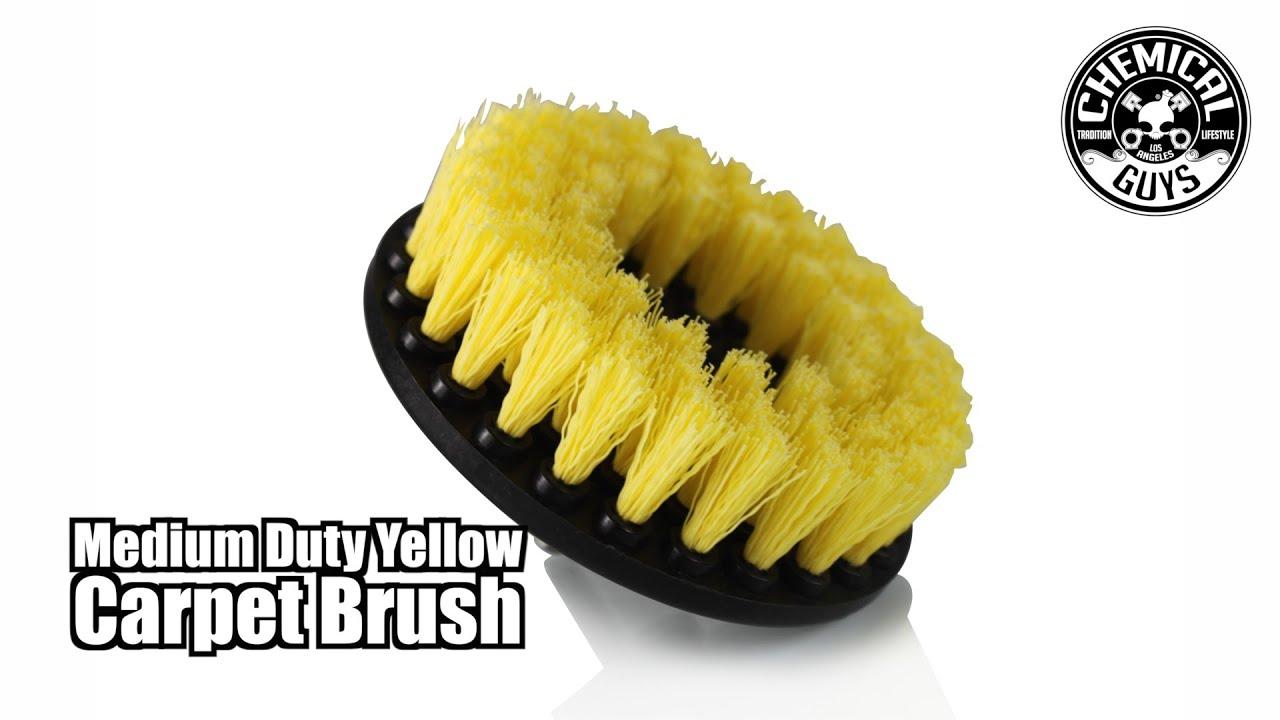 Medium Duty Carpet Drill Brush Chemical Guys Car Care