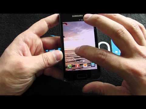 Samsung GALAXY S Advance video prova da HDblog