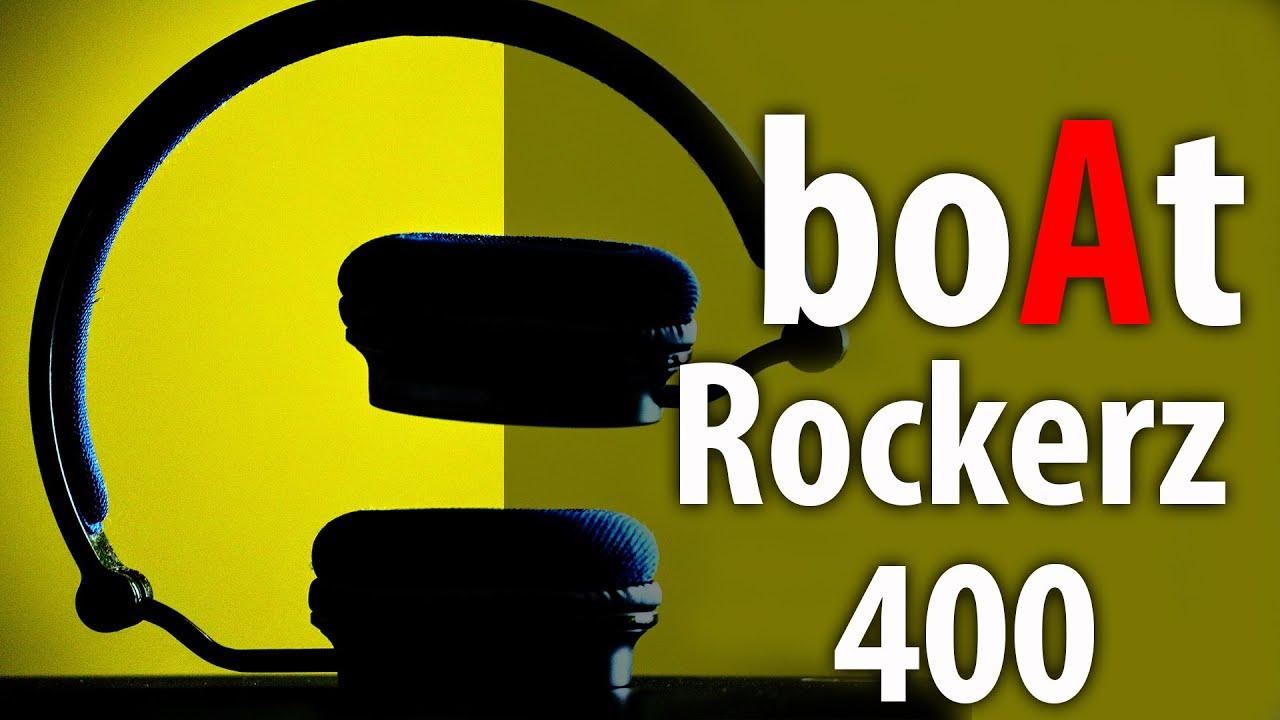 boAt Rockerz 400 On Ear Wireless headphone || Unboxing || Tech4raK
