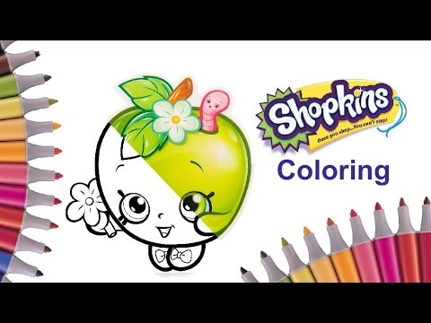 Shopkins Characters Coloring Page Part 4