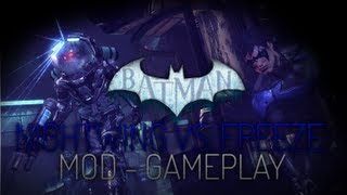 Video Batman Arkham City Mods - Nightwing vs. Mister Freeze Gameplay download MP3, 3GP, MP4, WEBM, AVI, FLV Mei 2018