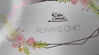 Cosméticos Paleta de Sombra 16 Colores Always Chic Color Central I Cosmeticos al por mayor.