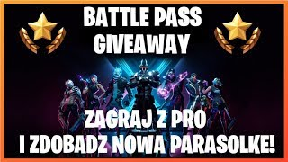 Someone lacks a new umbrella? GIVEAWAY on Battle Pass! | Fortnite | United Kingdom | Live!
